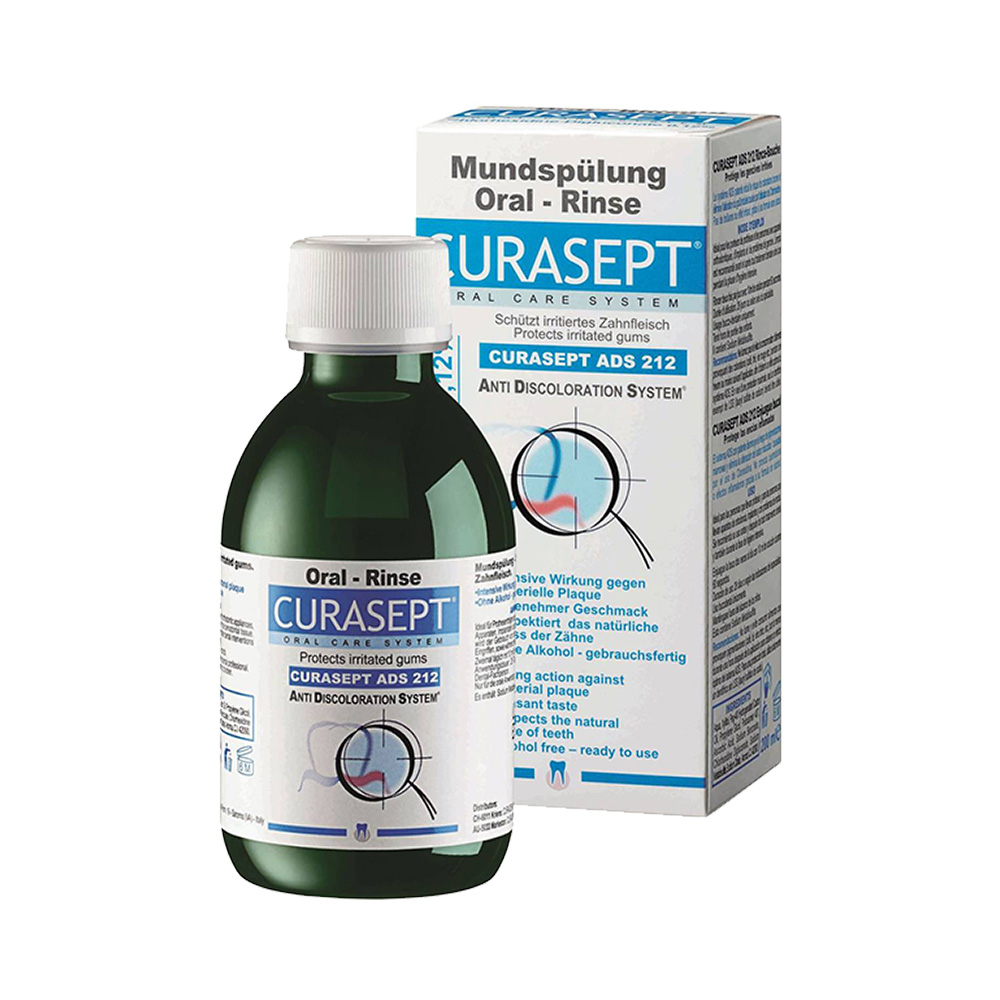 CURASEPT MOUTHWASH 0.12% 200ML